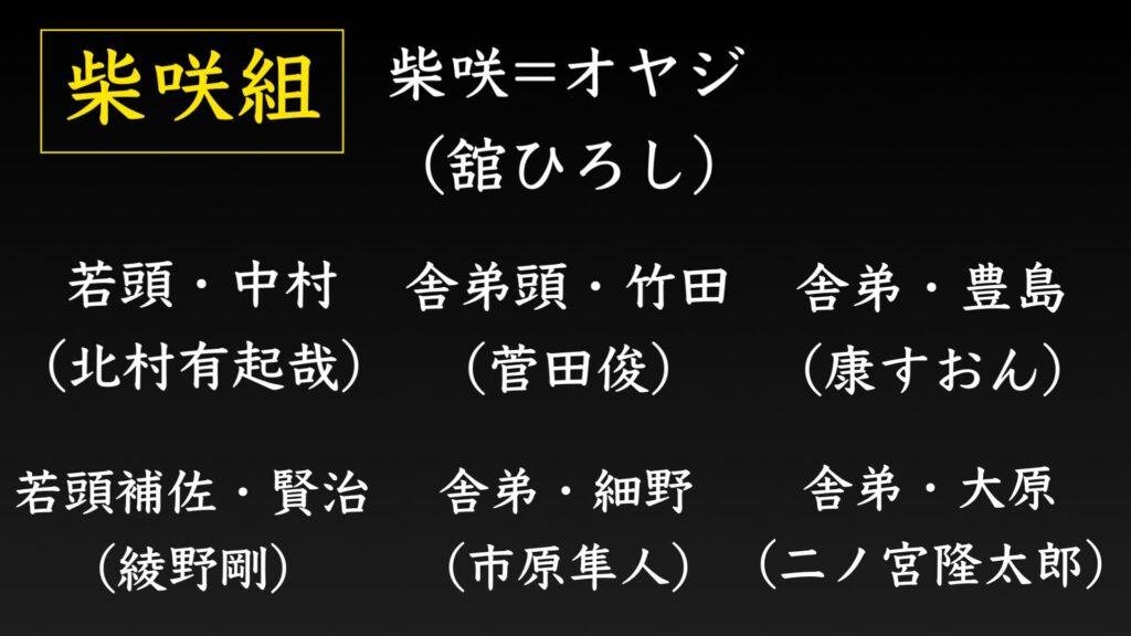 柴咲組の構成員